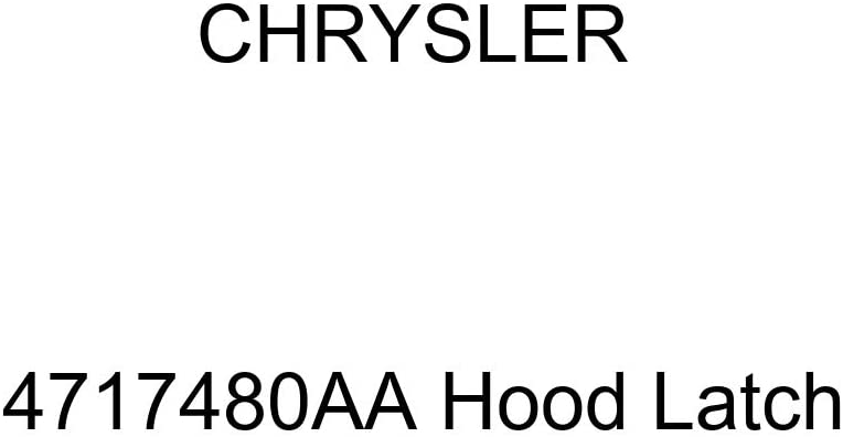 Genuine Chrysler 4717480AA Hood Latch