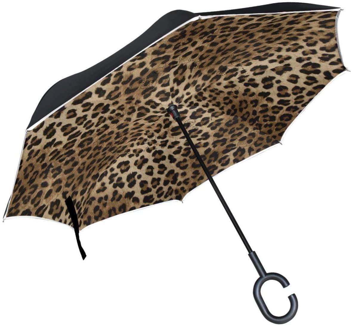 Cat Madnala Moon Inverted Umbrella Double Layer Reverse Umbrella