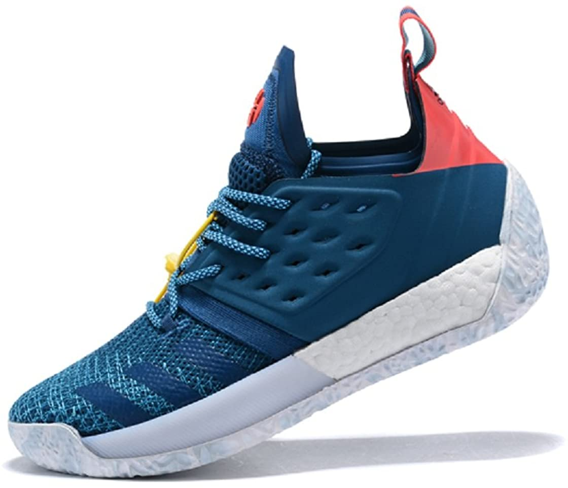 Jun hua Mens Harden Vol 2 Blue Basketball Shoes