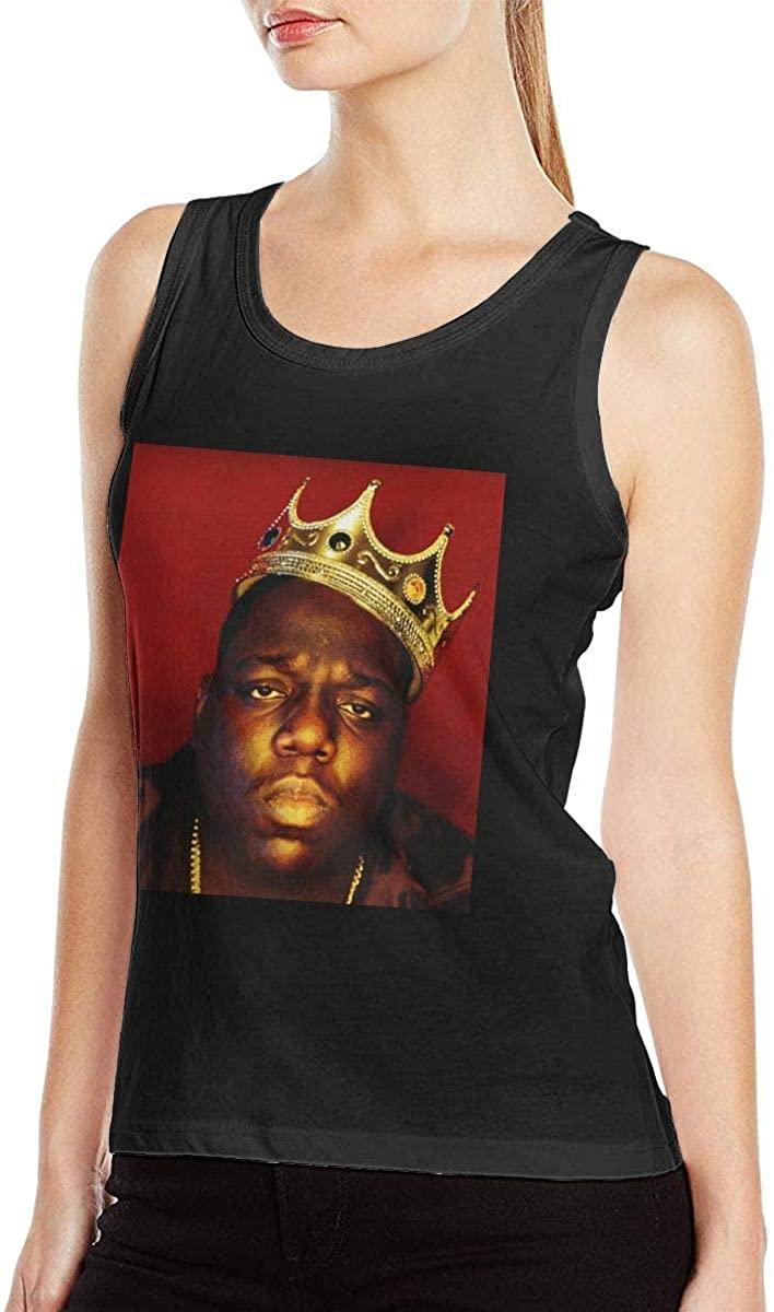 Biggie Smalls The Notorious B.I.G. Womens Sexy Tank Vest Particular Vest T Shirts Black