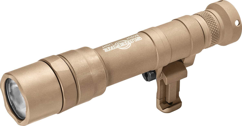 SureFire Dual Fuel Scout Light Pro LED WeaponLight, Tan (M640DF-TN-PRO)