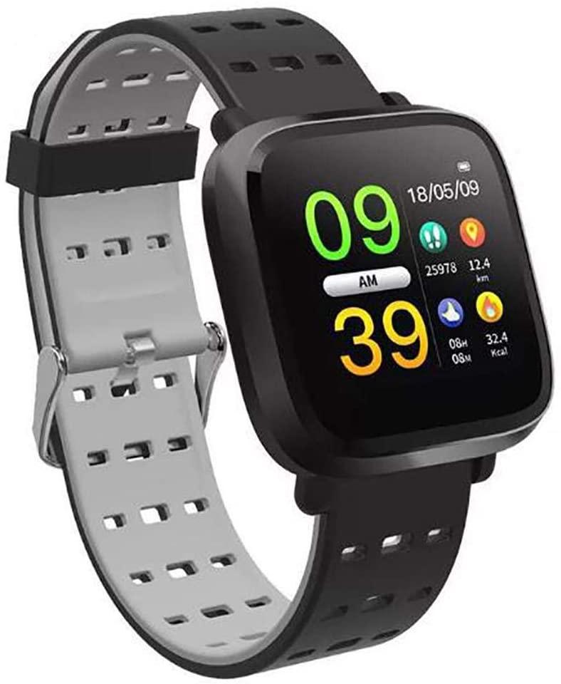 dalinana Unisex Fashion Waterproof Digital Display Buckle Closure Smart Bracelet Health Wristband Smart Watches