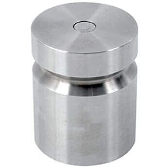 Troemner 1205 4 lb Class F Stainless Steel Test Weight with No Certificate, Cylindrical with Groove