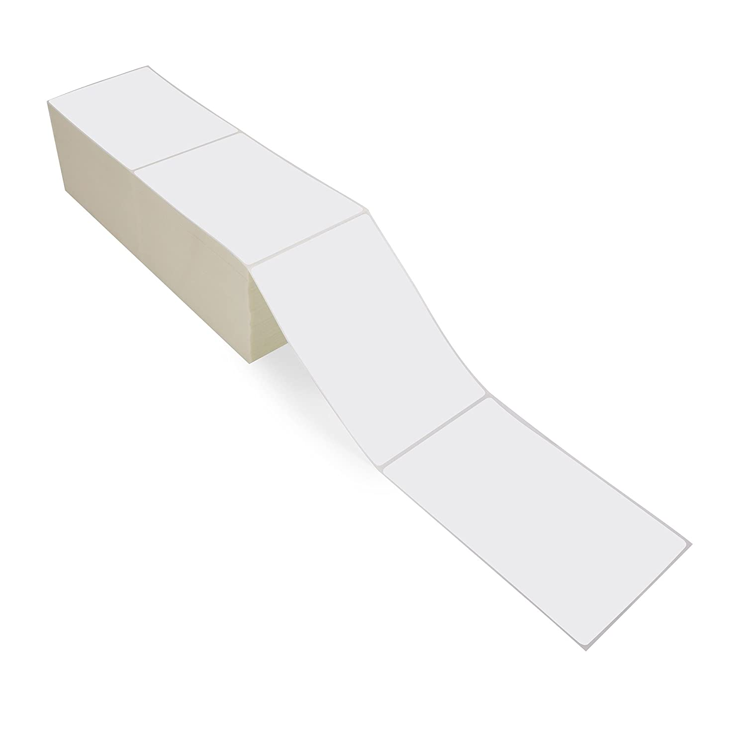 Smith Corona - 4x6 Thermal Transfer Fanfold Labels - 4000 Labels Per Box