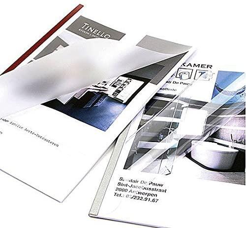 Unibind 100's (12mm) Black 66pcs Flexcovers UniCover Flex (up to 100 Sheets)
