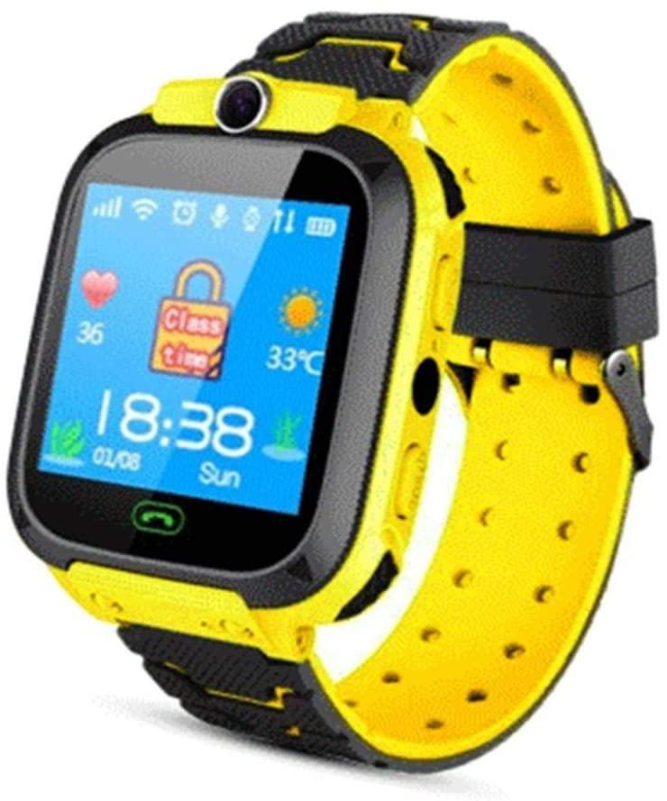 dalina Children Smart Watch SOS Call Location Tracker Student Two-Way Voice Wristwatch Smart Watches