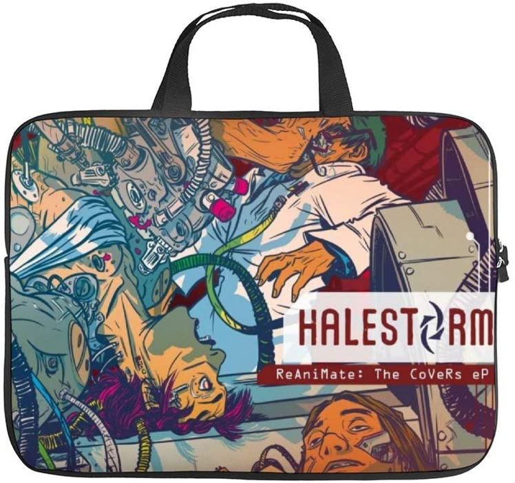 Halesto-rm Unisex Waterproof Briefcase Large Capacity Portable Laptop Bag