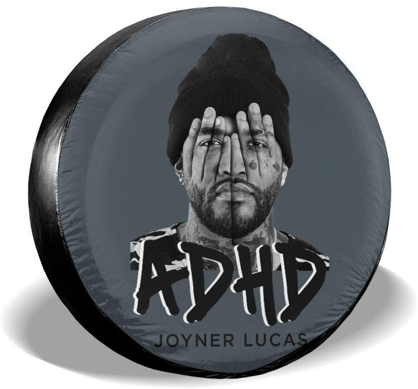 Qwertyi Joyner Lucas Tire Cover Universal Spare Wheel Fo Camper Travel Trailer