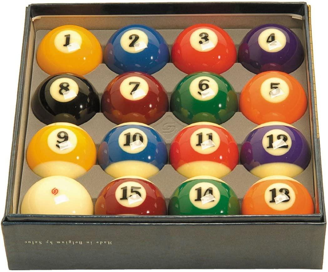 Aramith 2-1/4 Regulation Size Professional Billiard/Pool Balls, Super Aramith, Complete 16 Ball Set