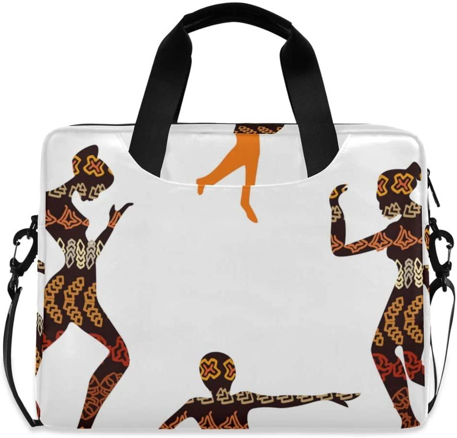 Laptop Bag, Shamanic Dance Laptop Briefcase Bag, 16 Inch Slim Laptop Backpack Laptop Case