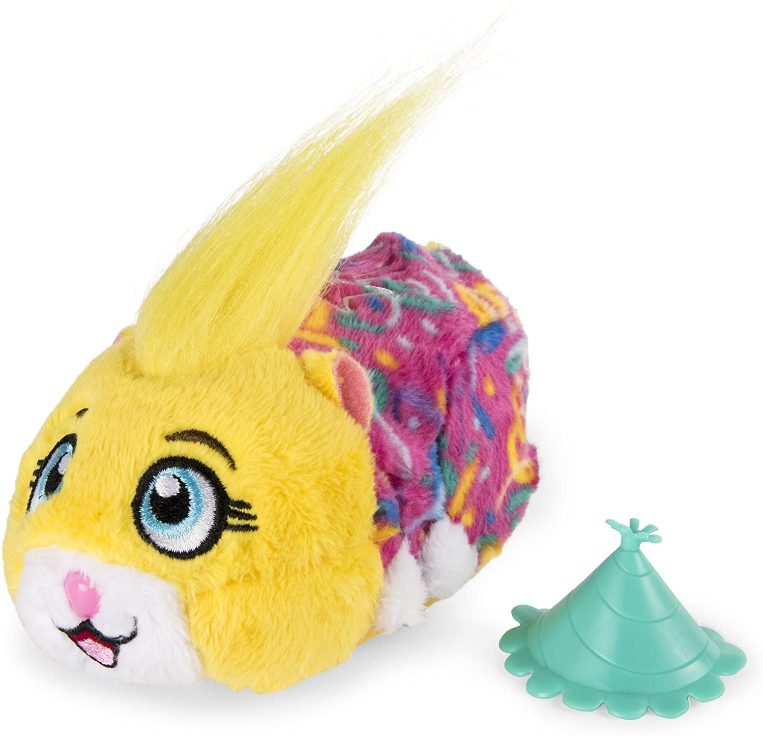 """Zhu Zhu Pets – Birthday Party Pipsqueak 4"""" Hamster Toy with Sound and Movement"""
