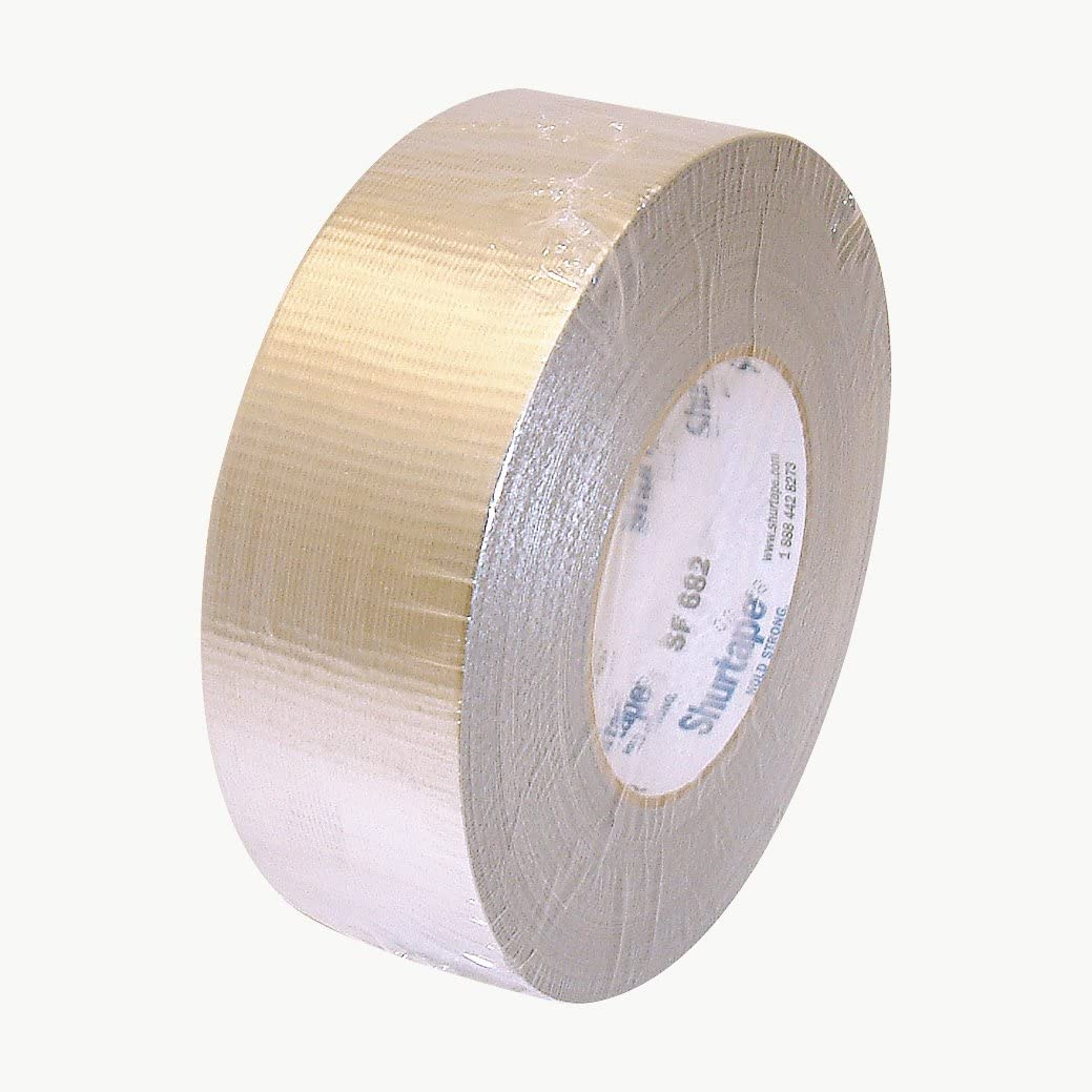 Shurtape SF-682/MSIL260 SF-682 HVAC Metalized Duct Tape: 2 x 60 yd, Metalized Silver
