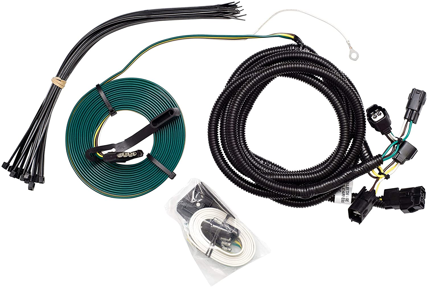 Demco 9523131 Towed Connector Vehicle Wiring Kit for Jeep Wrangler '98-'06