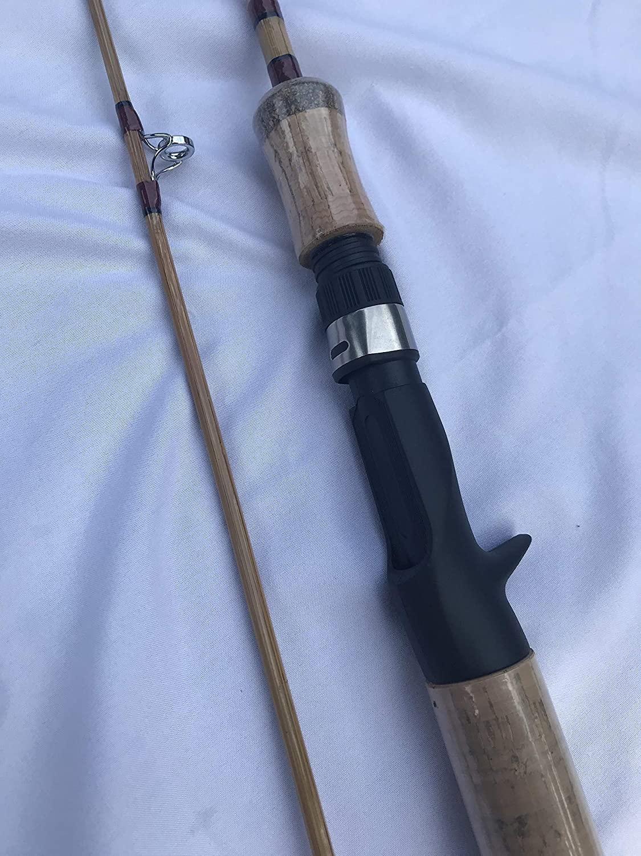 zhurod New Bamboo Casting Fishing Rod,6'6