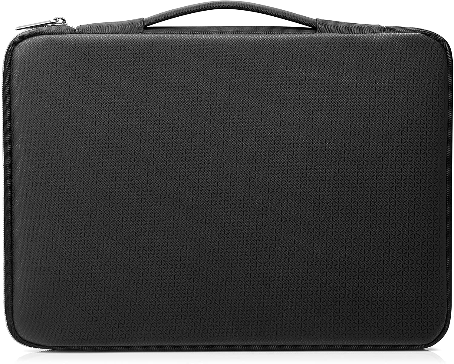 HP Duotone 14 Inch (35.5 cm) Black & Silver Carry Sleeve for Laptop/Chromebook/Mac