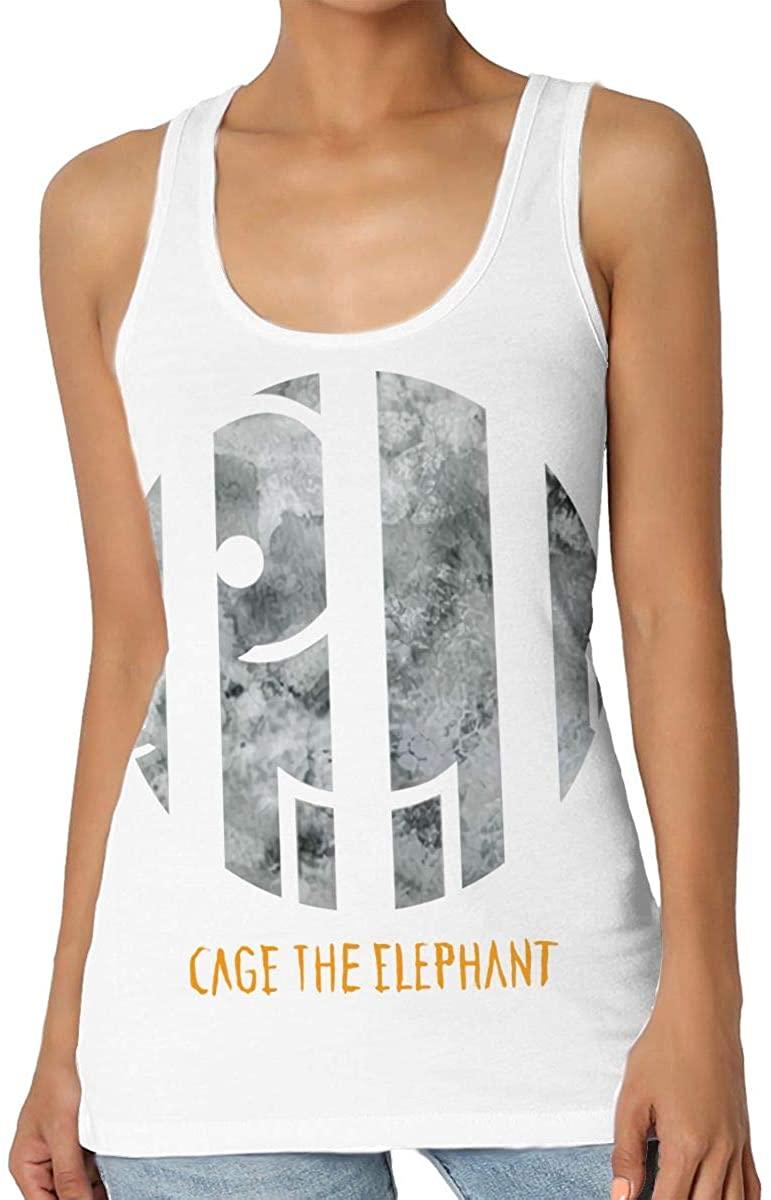 XiteSima Cage The Elephant Melophobia Fashion Sports Women's Advanced Vest Daily Sports Vest