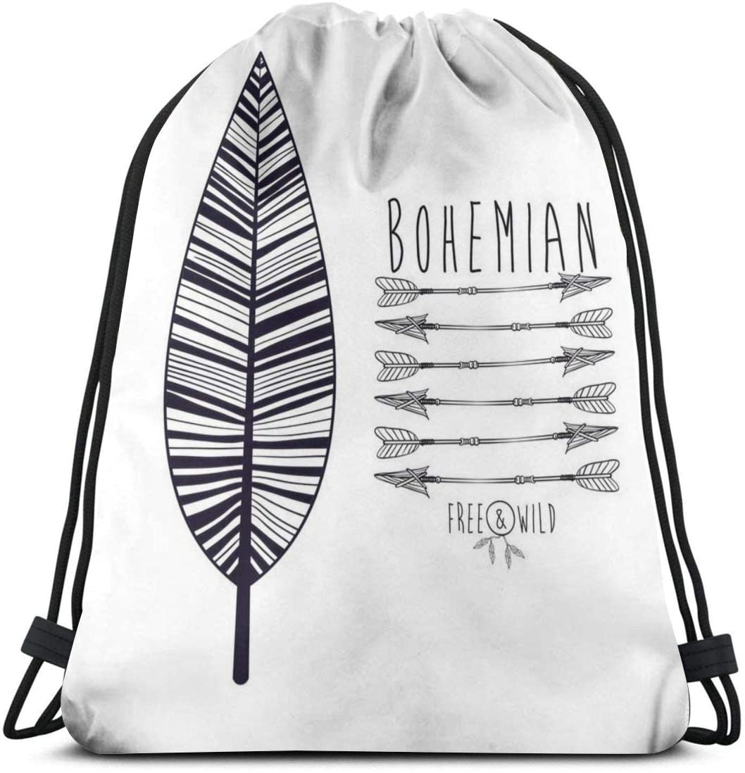 Backpack Drawstring Bags Cinch Sack String Bag Gypsy Style Texture Background Classical Sackpack For Beach Sport Gym Travel Yoga Camping Shopping School Hiking Men Women