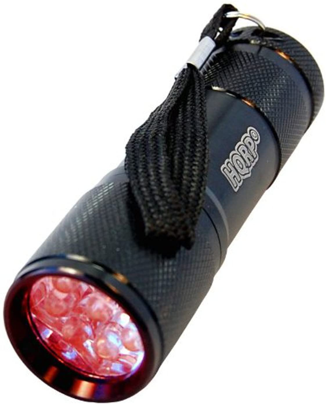 HQRP Portable Pocket Red Light Flashlight with 9 LEDs for Watching Iguanas and Snakes, Hamsters and Hedgehogs, Turtles and Reptiles at Night