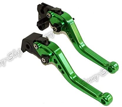 Accessories waase for Kawasaki GPZ500S Ninja EX500R 1990 1991 1992 1993 1994 1995 1996 1997 1998 1999 2000 2001-2009 CNC Clutch Levers Short