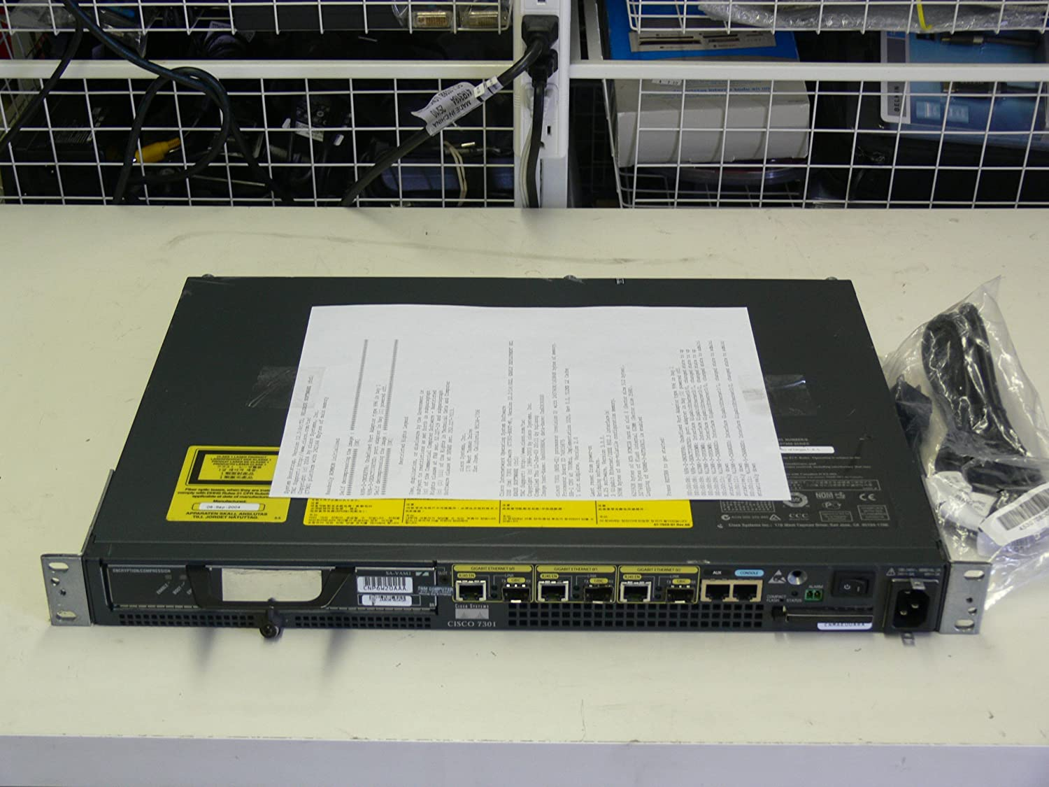 Cisco 7301 Router Chassis CISCO7301