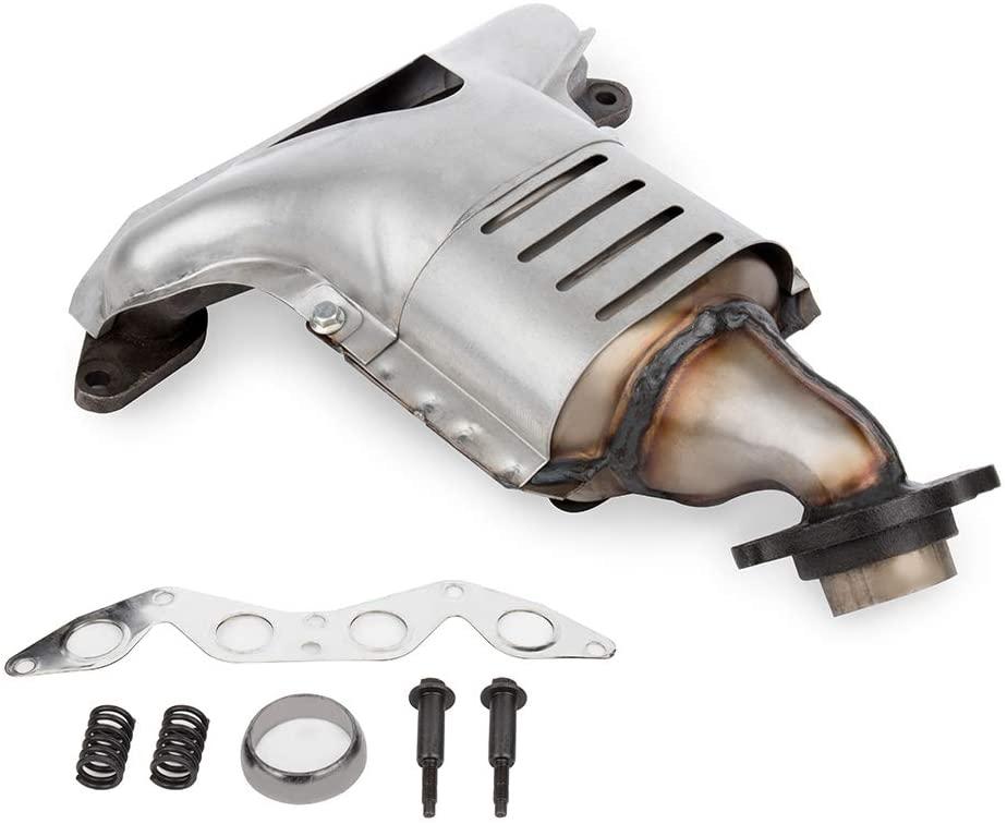 Catalytic Converter FINDAUTO Fits for 2001-2004 Honda Civic DX Coupe 2-Door 2001-2005 Honda Civic DX Sedan 4-Door 2001-2005 Honda Civic EX Coupe 2-Door 2001-2005 Honda Civic EX Sedan 4-Door