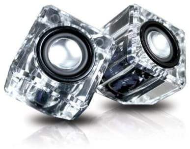 iSound Ice Crystal Portable Speaker (blue)