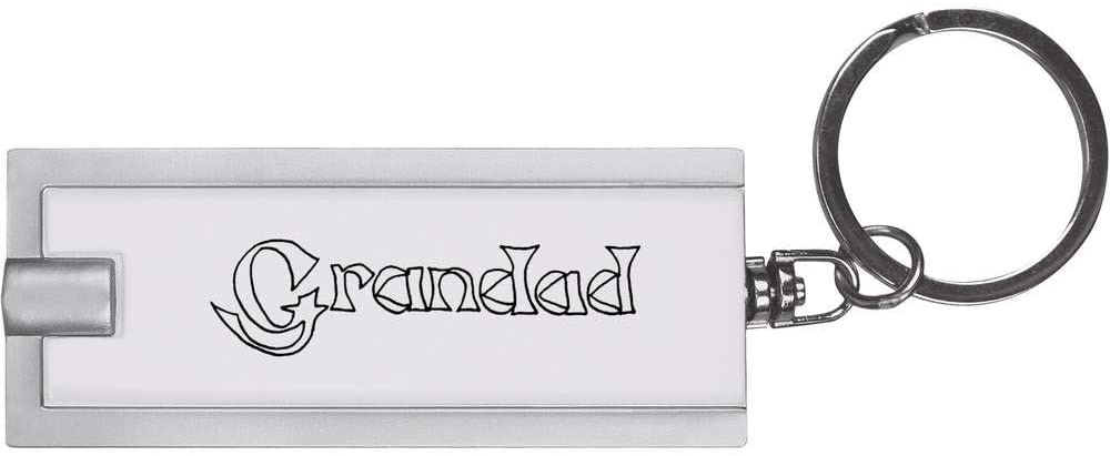 Azeeda 'Grandad' Keyring LED Torch (KT00005408)