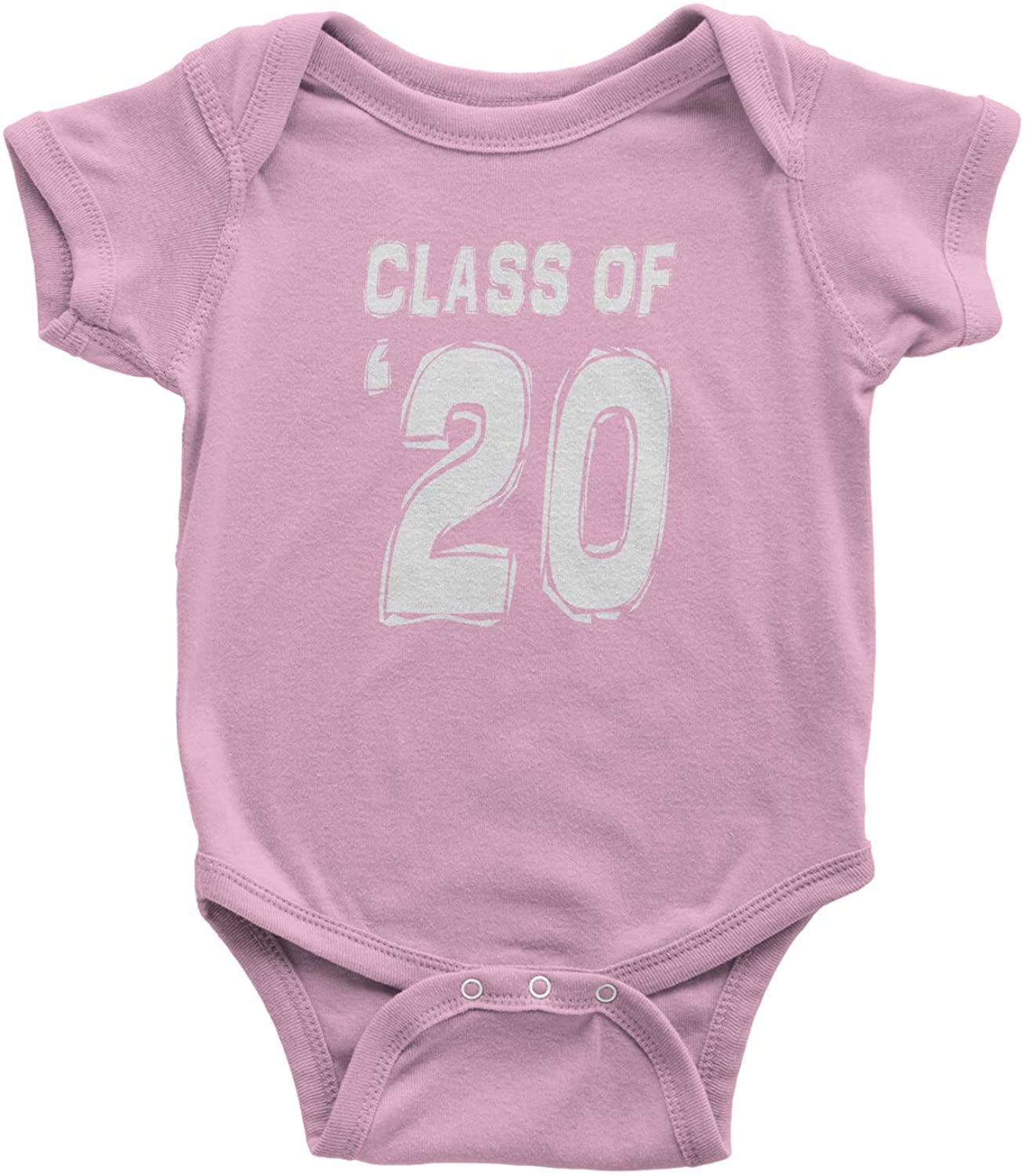 Expression Tees Class of 2020 Graduation Infant One-Piece Romper Bodysuit