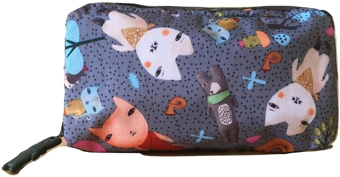 LeSportsac Donna Wilson Singing In The Woods Rectangular Cosmetic Bag