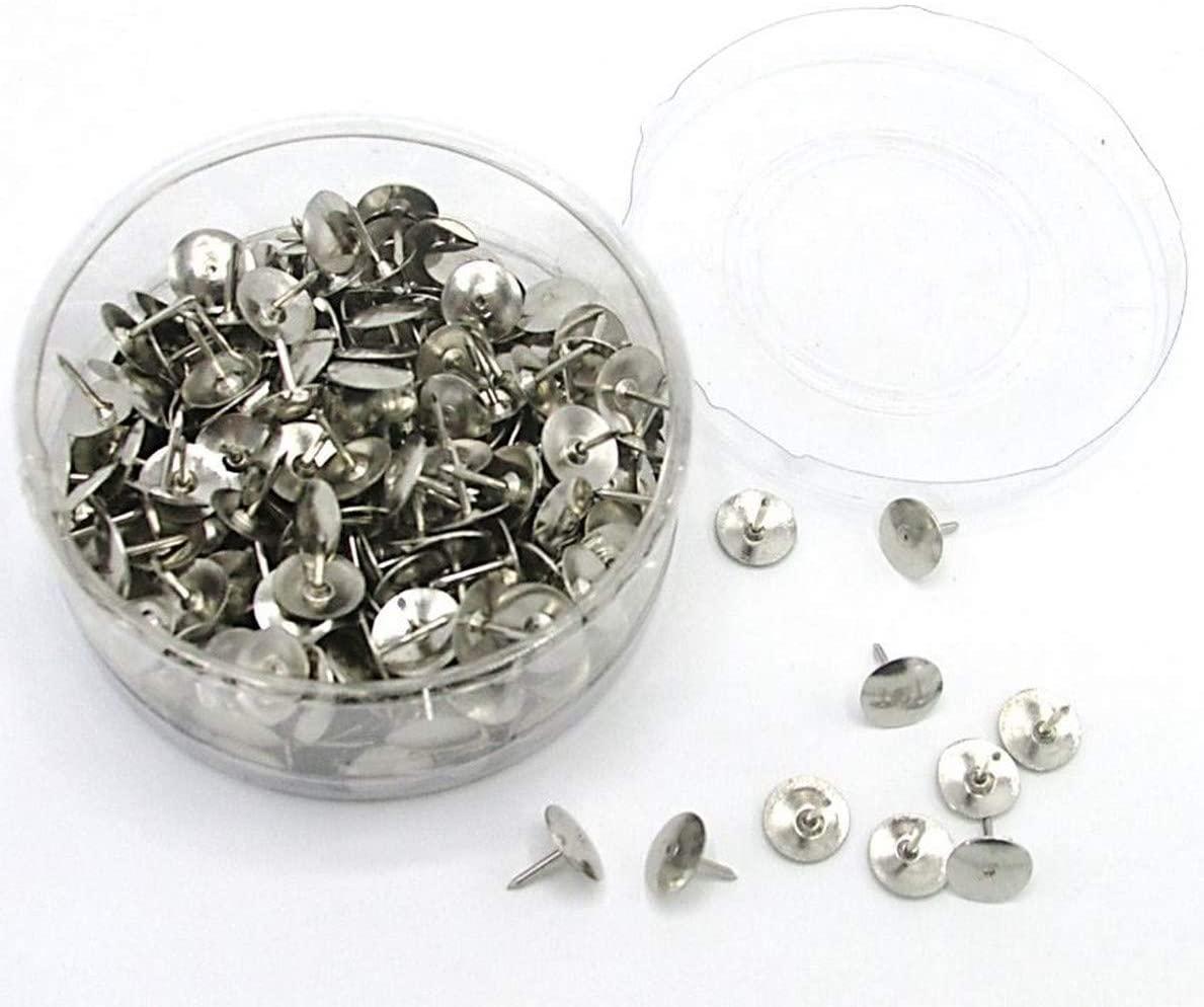 300 Pieces Round Head Pins Thumb Tacks - Office School Home Use Thumbtacks - Push Pin Arts and Craft Decoration Organization