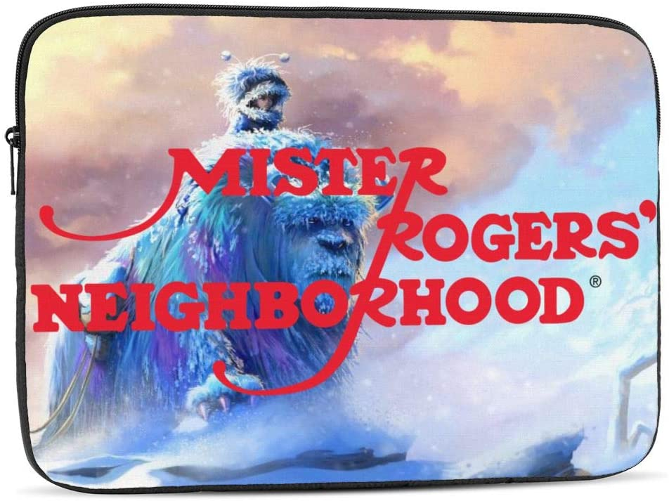 Mister Rogers Logo Waterproof Computer Bag Laptop Case Laptop Tablet Tote Travel Briefcase
