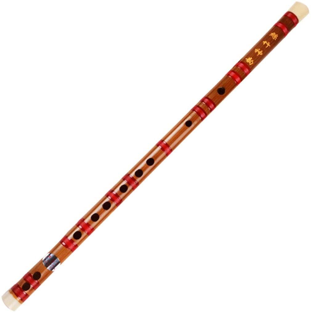 Flute, a Flute Beginner, Popular Bitter Bamboo Flute Instrument (Color : D Key)