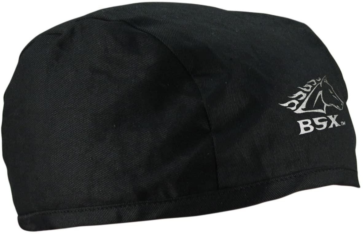 BSX Gear BC5B-BK Welding Beanie One Size Fits Most, Black