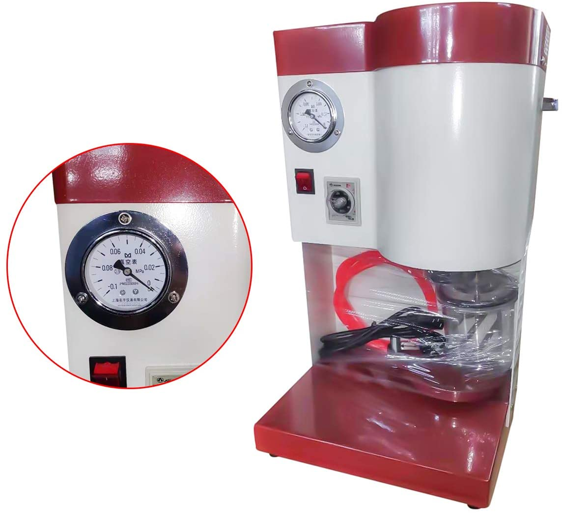 Super Dental Vacuum Mixer Lab Table Type Mxing Machine Blender With 500ml Capacity Class I 150W