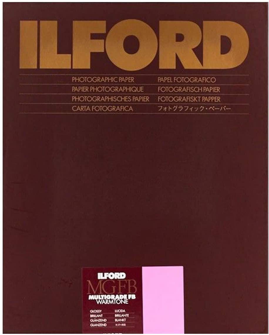 Ilford Multigrade FB Warmtone Paper (Glossy, 8 x 10 , 25 Sheets)