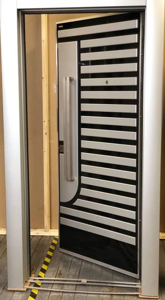Haska HG PVC Wood Steel & Security Door MOD-129