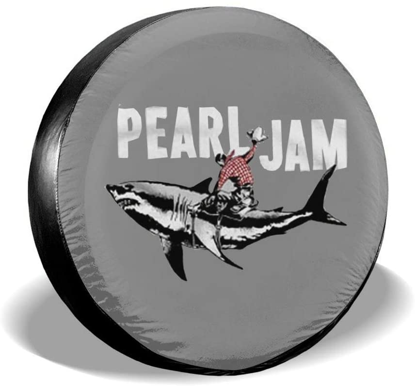 Pearl Jam Spare Tire Gap Trailer Rv Truck 14 15 16 17 Inch Sunscreen Dustproof Dustproof Wheel Cover.