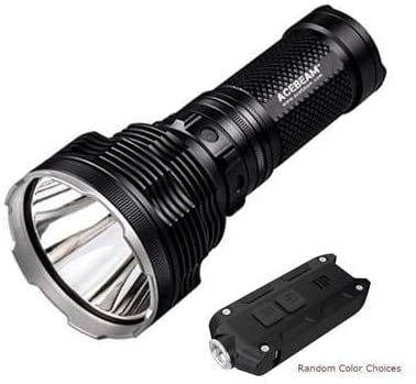 Combo: Acebeam K70 Flashlight XHP35 HI LED -2600Lm w/Tip Keychain Light w/color options
