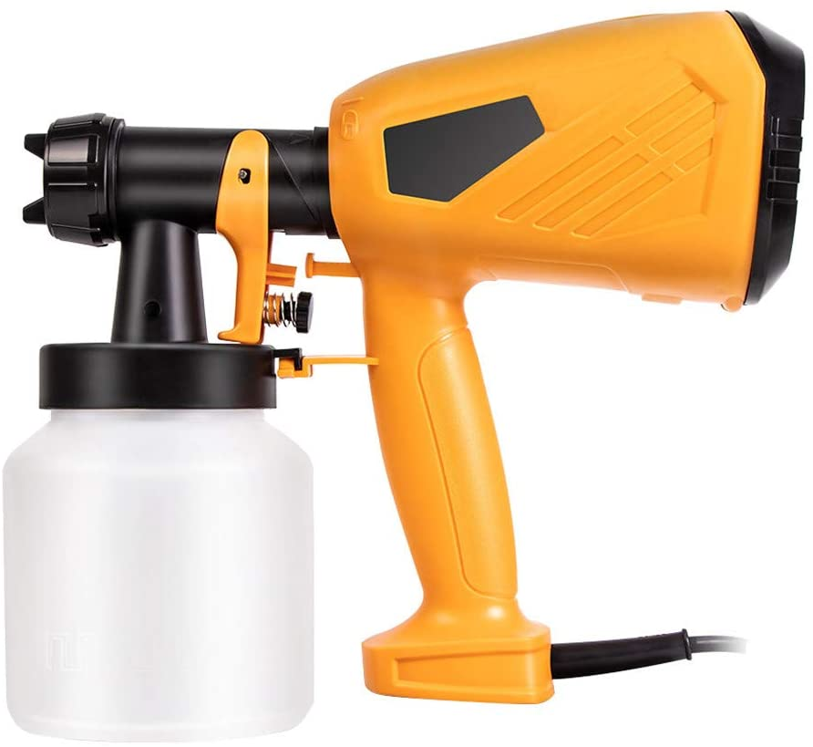 220V 500W Electric Paint Sprayer Airless House Fence Room Car Painting Spray, Tools & Home Improvement HotSales (B)