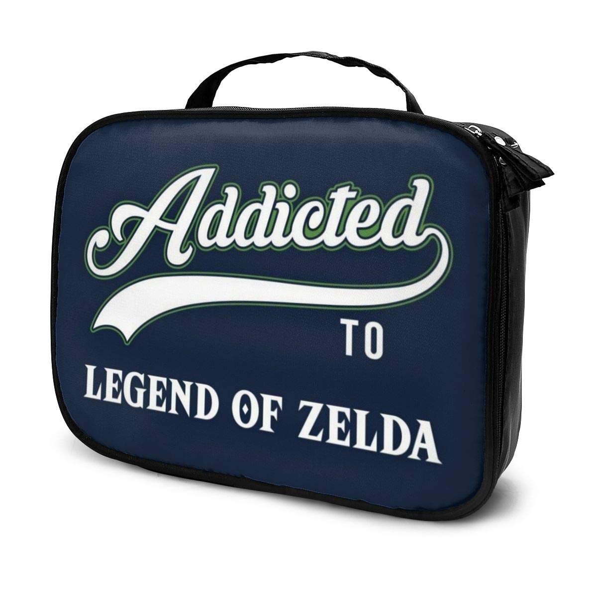 Multi-Functional Bag With Compartments Addicted To Legend Of Zelda Professional Cosmetic Pouch Travel Kit Makeup Boxes Makeup Bag