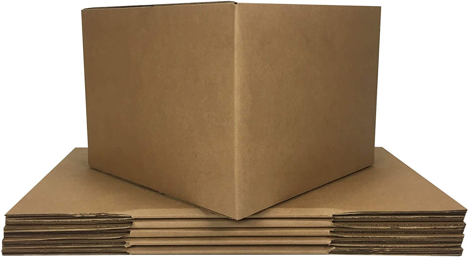 uBoxes Large Moving Boxes (6 Pack) 20x20x15-inches Cardboard Box
