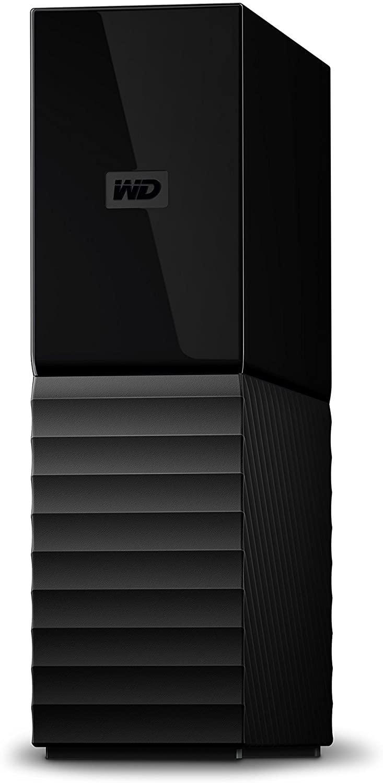 WD 4TB My Book Desktop External Hard Drive, USB 3.0 - WDBBGB0040HBK-NESN,Black