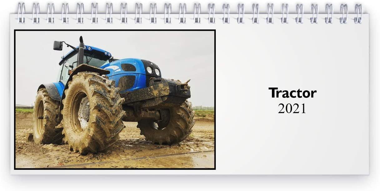 Tractor 2021 Desk Calendar