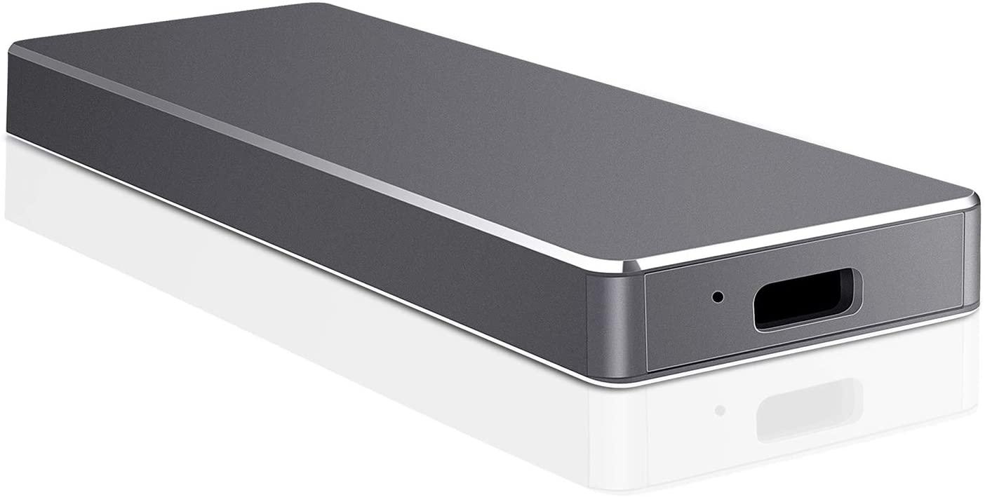 External Hard Drive, Hard Drive Portable Slim External Hard Drive USB 3.0 1TB 2TB Compatible with PC, Laptop and Mac (1TB, Blue)