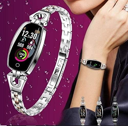 Women Fitness Tracker Watch Smart Watch for Women (Silver)