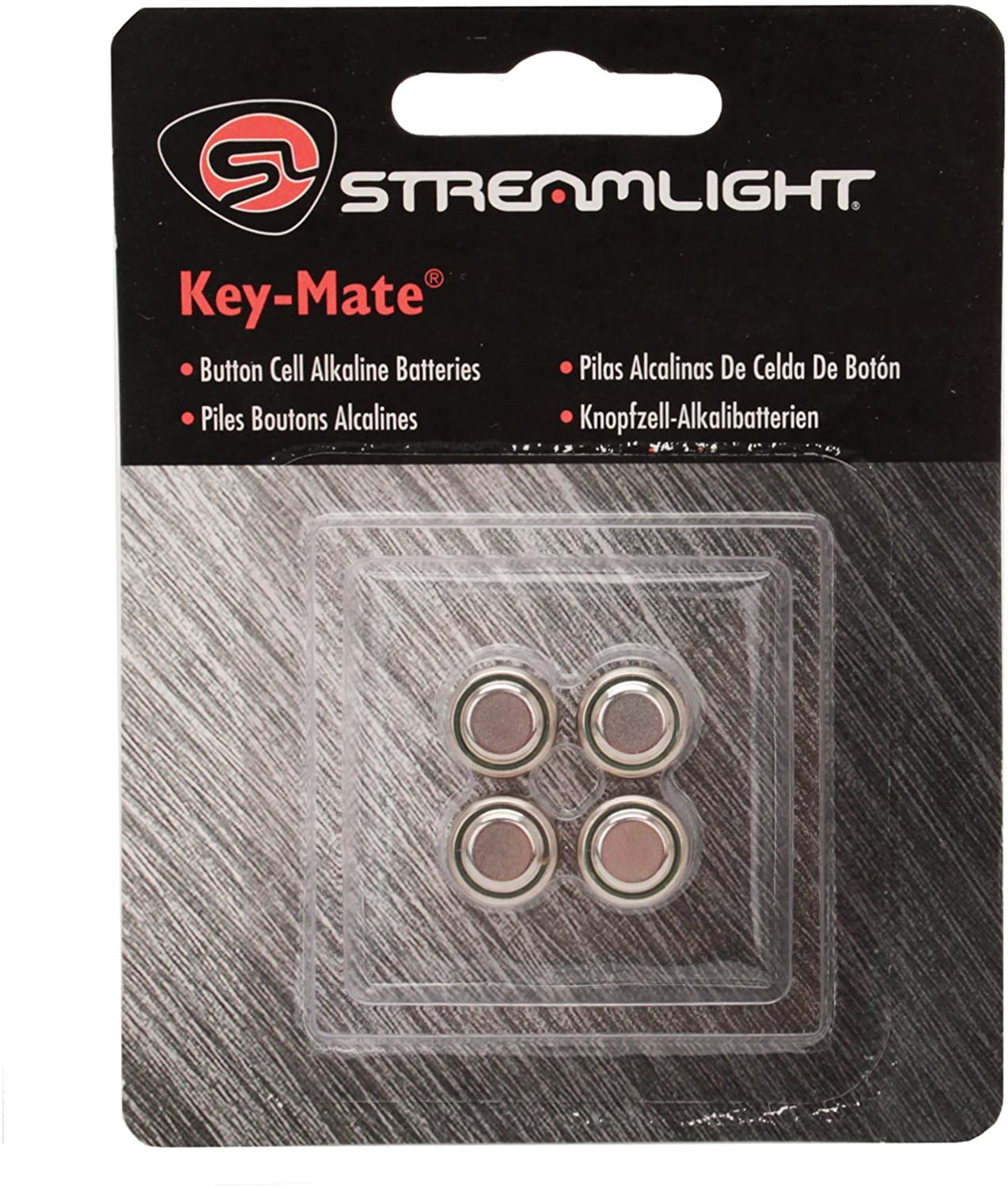 Streamlight 72030 4 Pack Replacement Batteries for Key-Mate