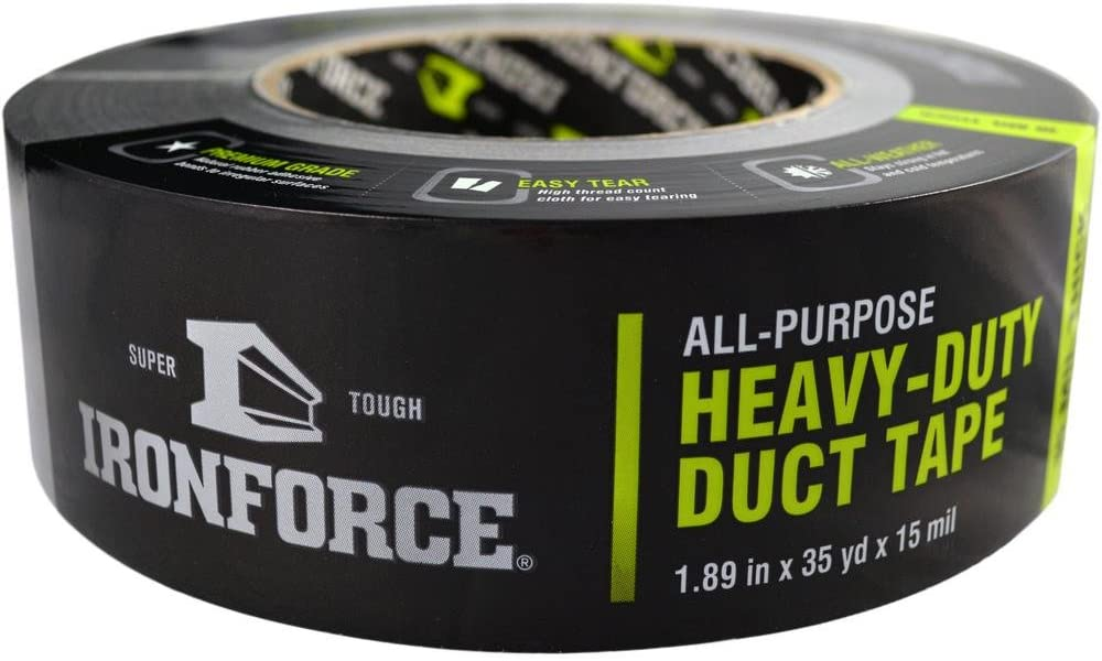 Covalence Adhesives 3570434 Iron Force All-Purpose, Duct Tape, 1.89 In. X 35 Yd.