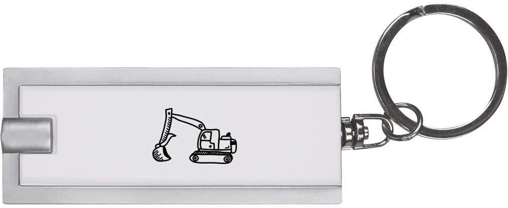 Azeeda 'Digger Truck' Keyring LED Torch (KT00010237)