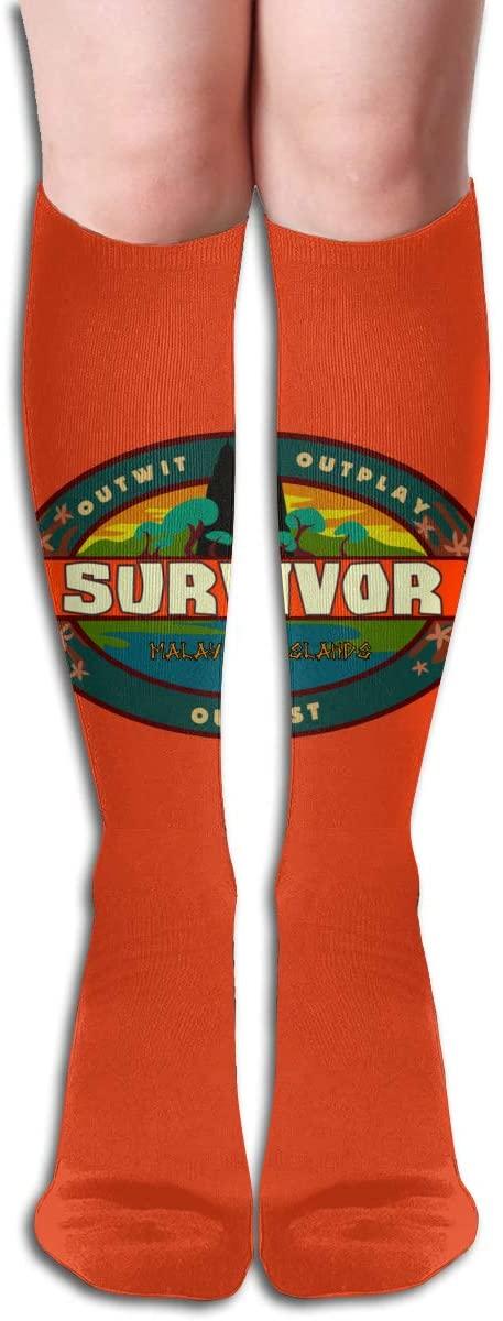 Su_Rvivor CBS Tv Te_Levision Show Womens & Men Socks Knee High Long Socks