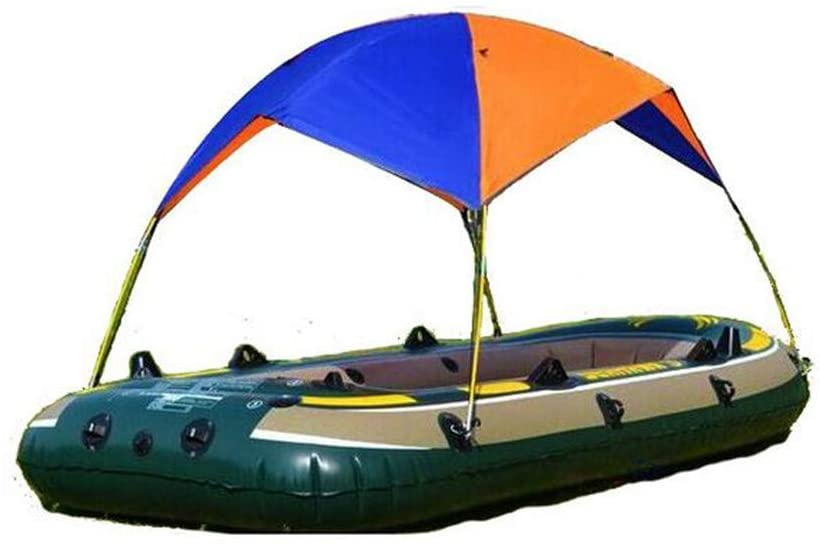 Fineday Camping & Hiking, Sunscreen Inflatable Boat Tent Two People Waterproof Rubber Boat Folding, Outdoor&Sport HotSales (Multicolor)